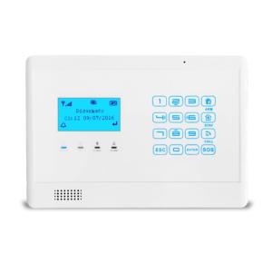 gsm lcd menu alarm e5 panel