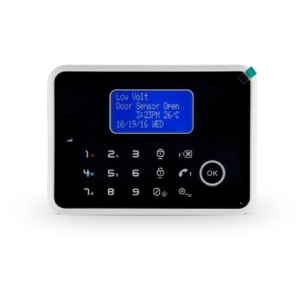 gsm pstn alarm 868 mhz mobile app lcd display cid protocol
