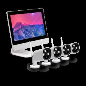nvr kit 4ch camera