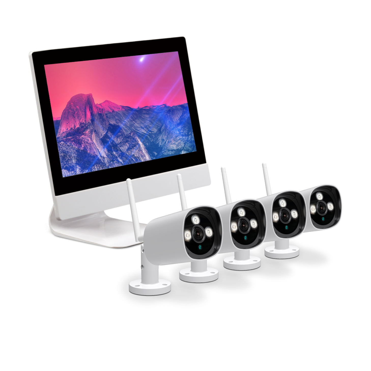 nvr kit 4ch camera