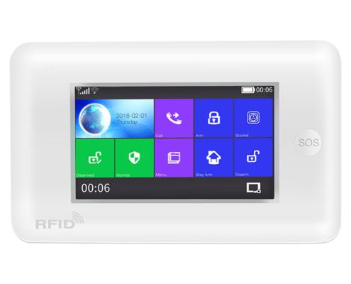 wifi gsm 3g alarm white