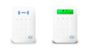 rfid or lcd touch keypad